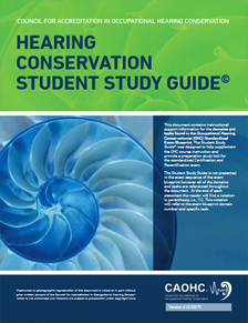 Hearing Conservation Study Guide